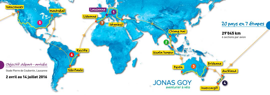 le tour du monde de Jonas