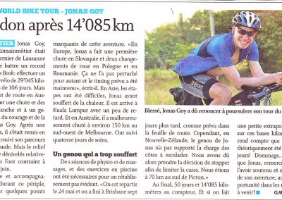 Journal de Cossonay 17.06.16