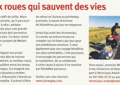 Medair News 2012 N°2